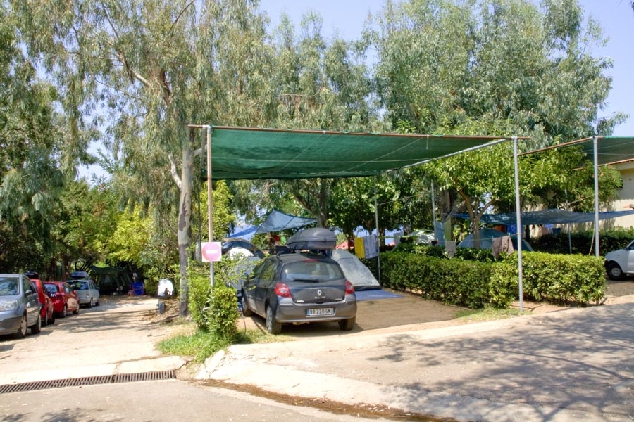 Services, Camping Fournia Village Kyllini beach tent camper restaurant